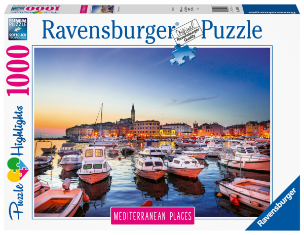 RAVENSBURGER PUZZLE 1000 PEZZI - MEDITERREAN CROATIA Ravensburger1