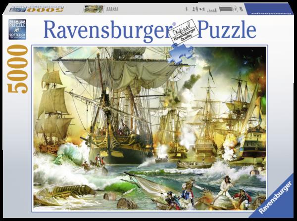 RAVENSBURGER PUZZLE 5000 PEZZI - BATTAGLIA IN ALTO MARE Ravensburger1