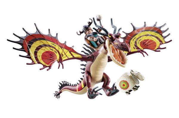 DRAGONS RACING: MOCCICOSO E ZANNACURVA    Playmobil