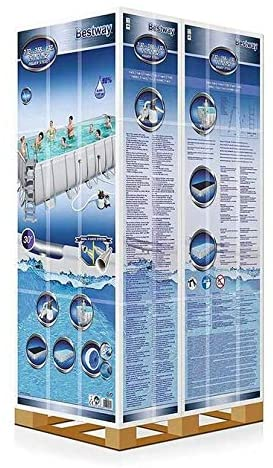 Bestway  Set piscina fuori terra Power Steel™ da 7.32 m x 3.66 m x 1.32 m di Bestway®