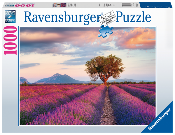 RAVENSBURGER PUZZLE 1000 PEZZI - CAMPI DI LAVANDA Ravensburger1