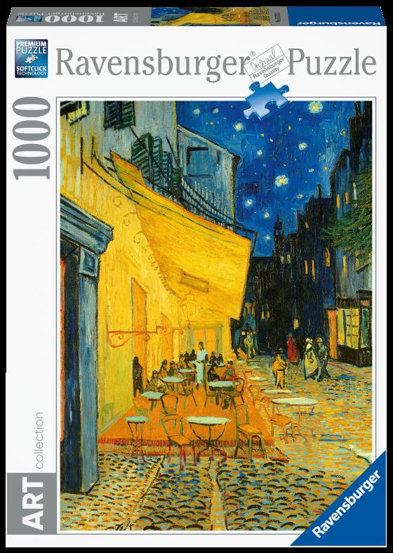 RAVENSBURGER PUZZLE 1000 PEZZI - VAN GOGH: CAFFE DI NOTTE Ravensburger1