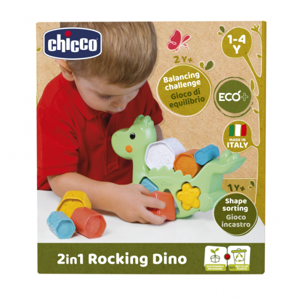 Chicco  ROCKING DINO ECO+