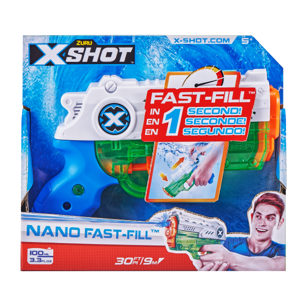 XSHOT WATER B1 PACK FAST FILL