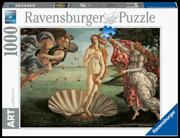 RAVENSBURGER PUZZLE 1000 PEZZI -  NASCITA DI VENERE Ravensburger1