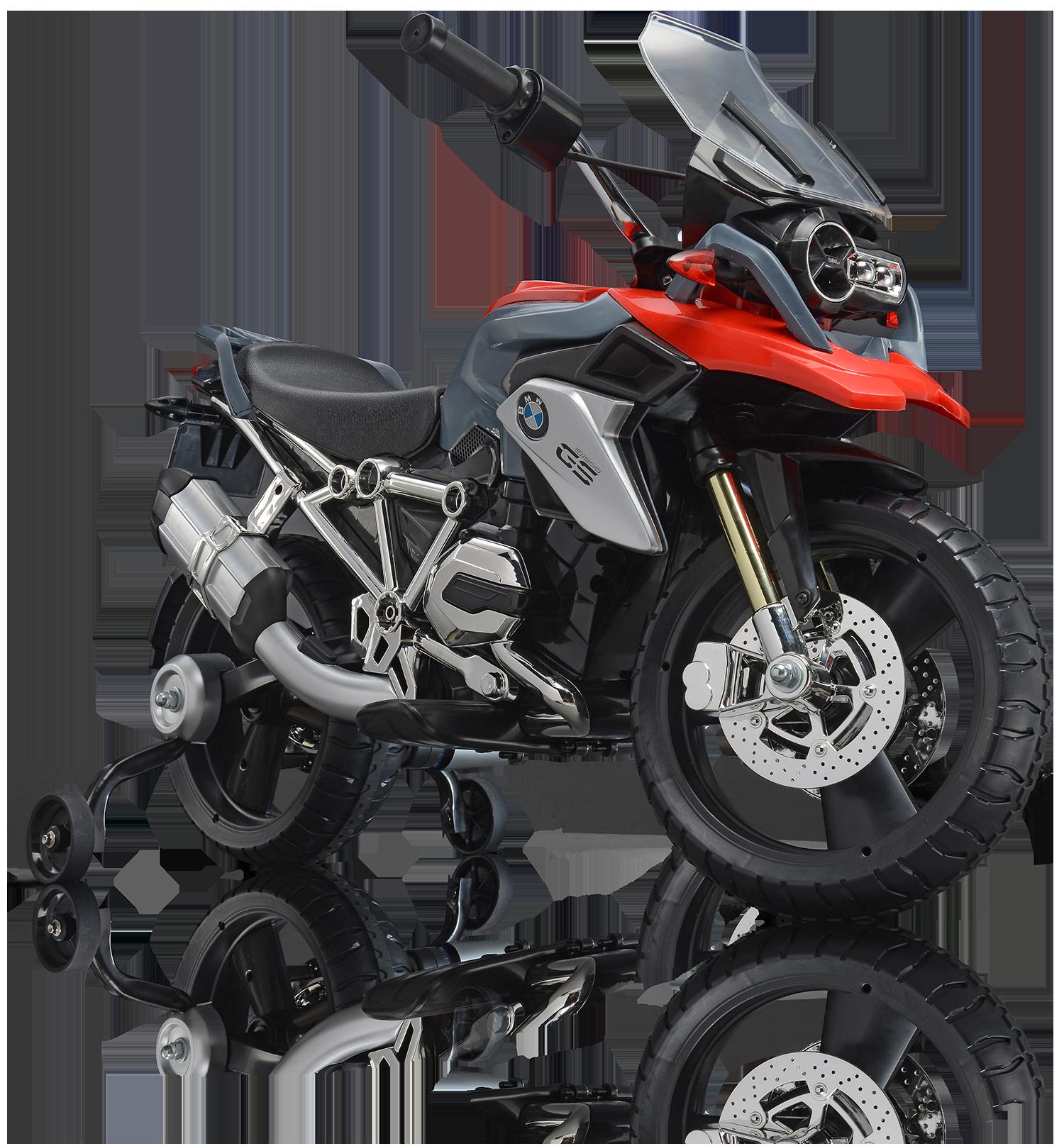 Motocicletta  12v bmw r 1200gs - ROLLPLAY
