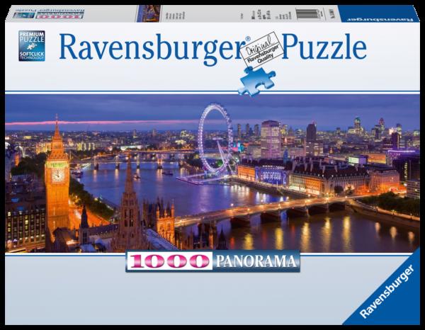 RAVENSBURGER PUZZLE 1000 PEZZI - LONDRA DI NOTTE Ravensburger1