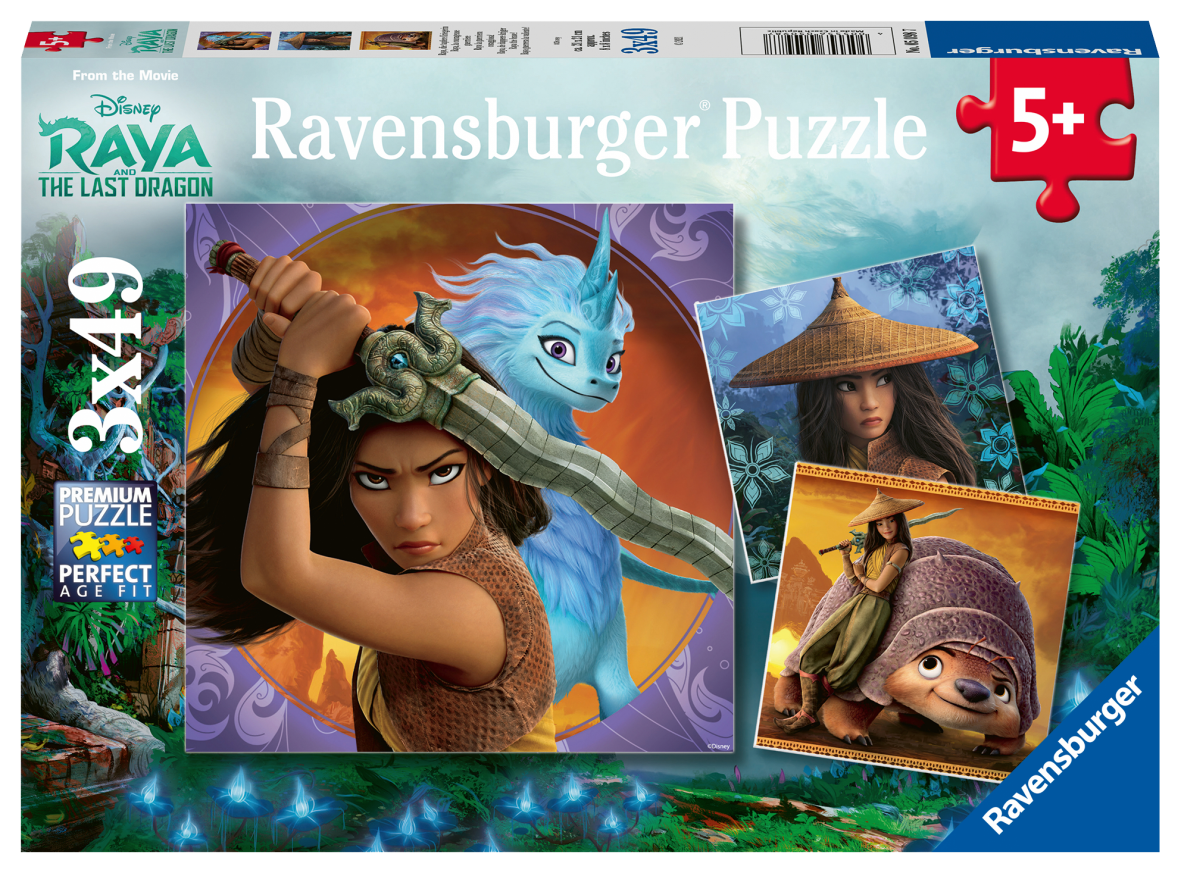 Ravensburger 3x49 pezzi - raya - Ravensburger1