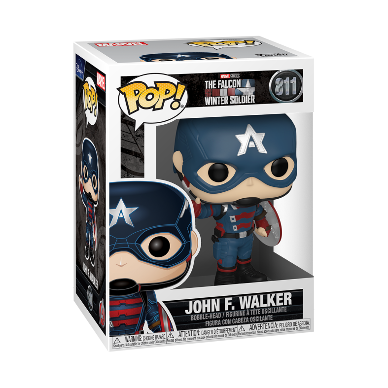 Pop: marvel the falcon and the winter soldier - john f. walker - Funko