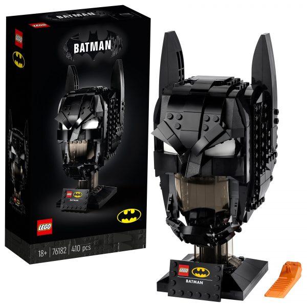 LEGO DC Cappuccio di Batman, Set da Costruzione per Adulti, Modello da Collezione dei Supereoi, 76182 DC COMICS, DC Comics Super Heroes