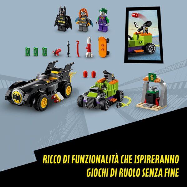 LEGO DC Batman vs. Joker: Inseguimento con la Batmobile, Set Macchina dei Supereroi per Bambini dai 4 anni in su, 76180   DC COMICS, DC Comics Super Heroes