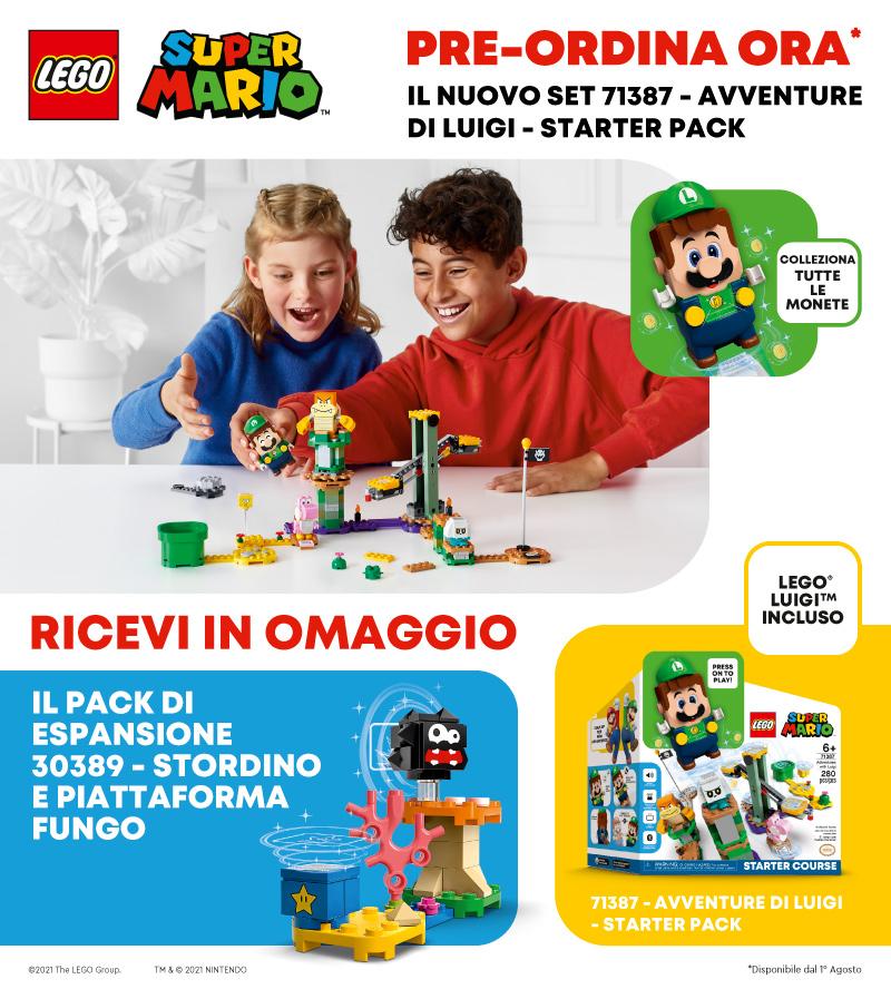 Lego Pre Order Super Mario