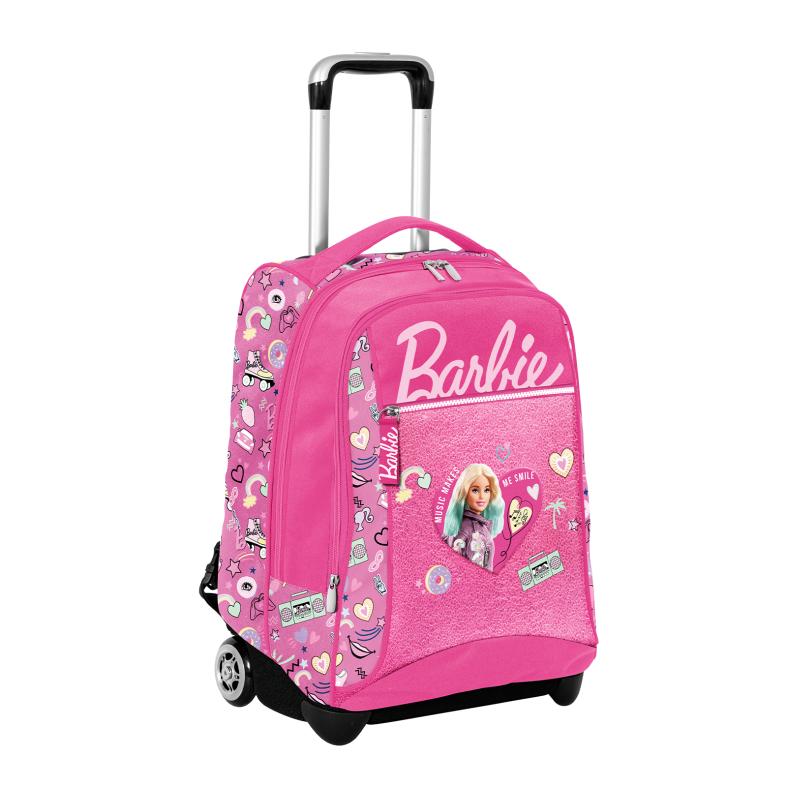 Big trolley barbie power pastel - SEVEN, Barbie