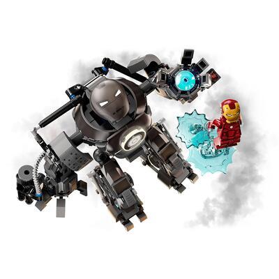Lego   LEGO Super Heroes Iron Man: Iron Monger Scatena il Caos, Set dei Supereroi Marvel Avengers con Action Figure del Mech, 76190