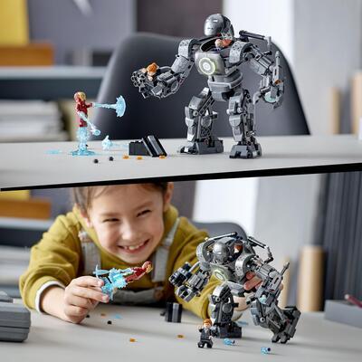 LEGO Super Heroes Iron Man: Iron Monger Scatena il Caos, Set dei Supereroi Marvel Avengers con Action Figure del Mech, 76190    Lego