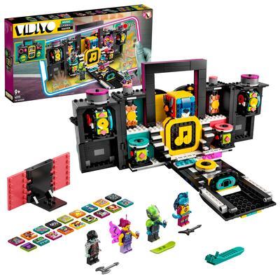 LEGO VIDIYO The Boombox BeatBox Creatore Video Musicali con 4 Minifigure, Giocattoli per Bambini, App Realtà Aumentata, 43115 Lego