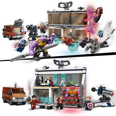 Lego  LEGO Super Heroes Marvel Avengers: Endgame, la Battaglia Finale, Set per Bambini di 8 Anni con Thanos e 6 minifigure, 76192