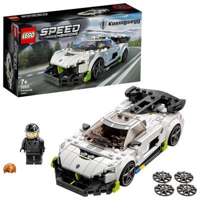 LEGO Speed Champions Koenigsegg Jesko, Auto Sportiva con Minifigure del Pilota, Macchina Giocattolo per Bambini, 76900 Lego