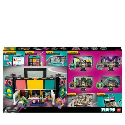 Lego LEGO VIDIYO The Boombox BeatBox Creatore Video Musicali con 4 Minifigure, Giocattoli per Bambini, App Realtà Aumentata, 43115