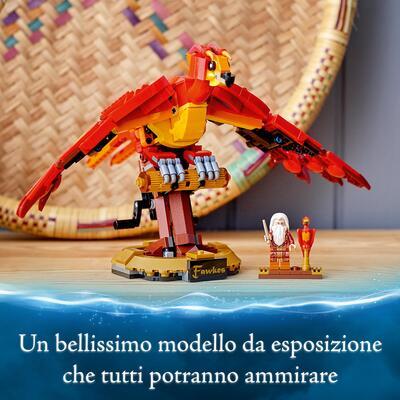 Lego harry potter fanny, la fenice di albus silente, set giocattoli da collezione con modello di un uccello meccanico, 76394 - lego-harry-potter, LEGO® Harry Potter™, Lego