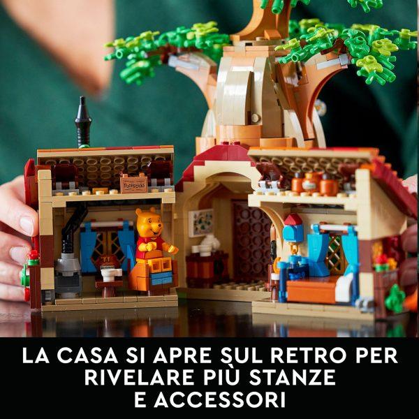 Lego  LEGO Ideas Disney Winnie the Pooh, Set per Adulti, Idea Regalo con Minifigure di Pimpi e Personaggio di Ih-Oh, 21326