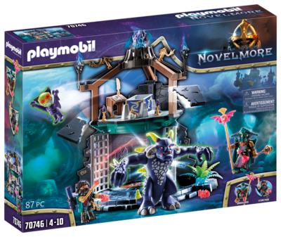 Violet vale - portale con demone - Playmobil