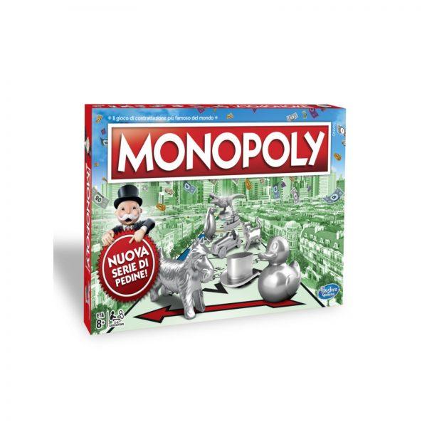 MONOPOLY  MONOPOLY - CLASSICO (GIOCO IN SCATOLA)