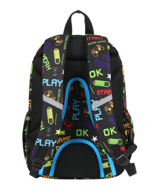 Zaino rider boy game over - COOLPACK