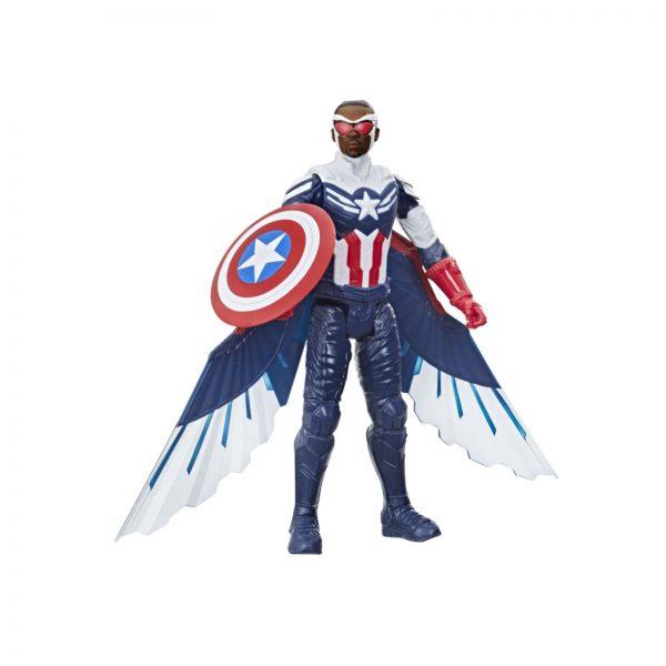 AVENGERS - CAPTAIN AMERICA FALCON EDITION (ACTION FIGURE TITAN HERO DA 30 CM, PER BAMBINI DAI 4 ANNI IN SU)    Avengers