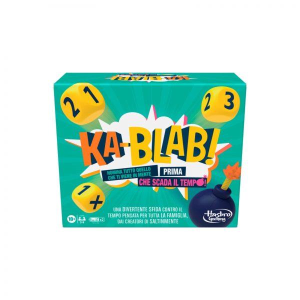 KA-BLAB! - GIOCO DI SOCIETà PER FAMIGLIE, PER BAMBINI DAI 10 ANNI IN Sù    HASBRO GAMING