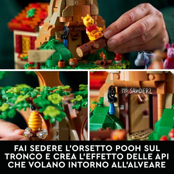 LEGO Ideas Disney Winnie the Pooh, Set per Adulti, Idea Regalo con Minifigure di Pimpi e Personaggio di Ih-Oh, 21326    Lego