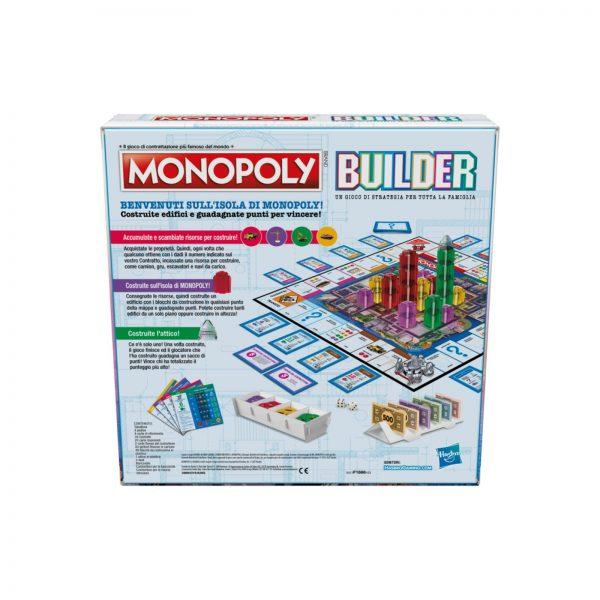 MONOPOLY BUILDER, GIOCO DA TAVOLO MONOPOLY, PER BAMBINI DAGLI 8 ANNI IN SU    MONOPOLY