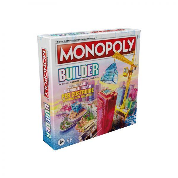 MONOPOLY  MONOPOLY BUILDER, GIOCO DA TAVOLO MONOPOLY, PER BAMBINI DAGLI 8 ANNI IN SU