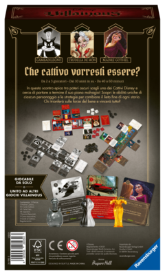 RAVENSBURGER VILLAINOUS PERFECTLY WRETCHED ESPANSIONE 3    Ravensburger1