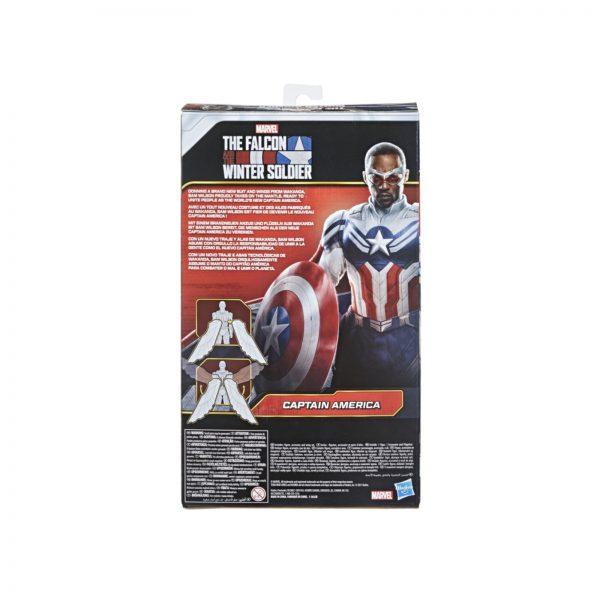 Avengers  AVENGERS - CAPTAIN AMERICA FALCON EDITION (ACTION FIGURE TITAN HERO DA 30 CM, PER BAMBINI DAI 4 ANNI IN SU)