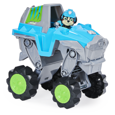 Paw patrol, veicolo dino rescue rex con dinosauro misterioso - Paw Patrol Dino