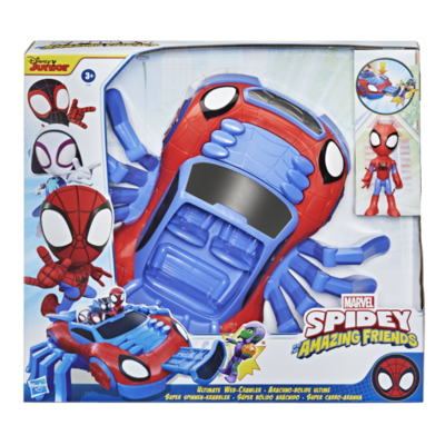 SPIDEY AND HIS AMAZING FRIENDS - ULTIMATE WEB-CRAWLER   SPIDEY AND HIS AMAZING FRIENDS