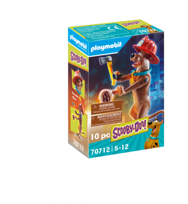 SCOOBY-DOO! SCOOBY VIGILE DEL FUOCO Playmobil