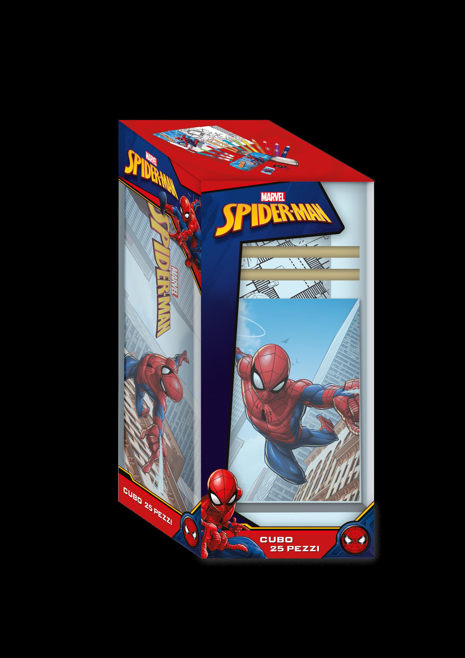 Cubo della creatività di spiderman - SPIDERMAN MARVEL