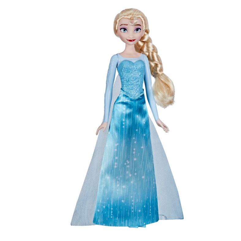 Hasbro disney frozen shimmer - elsa (fashion doll con capelli lunghi e abito ispirato al film frozen, per bambini dai 3 anni in su) - Frozen