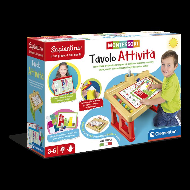 Montessori-tavolo attivita' - SAPIENTINO
