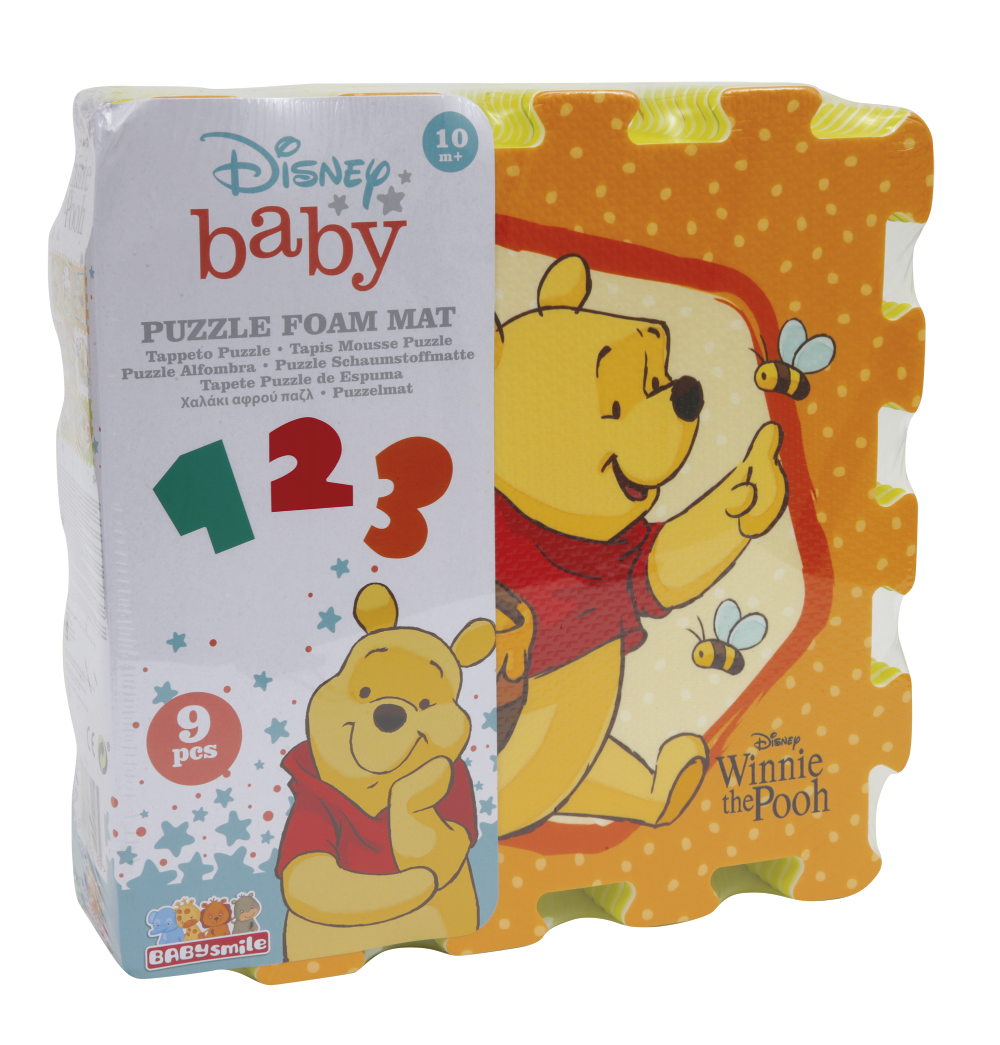 Tappeto puzzle - winnie the pooh - BABY SMILE