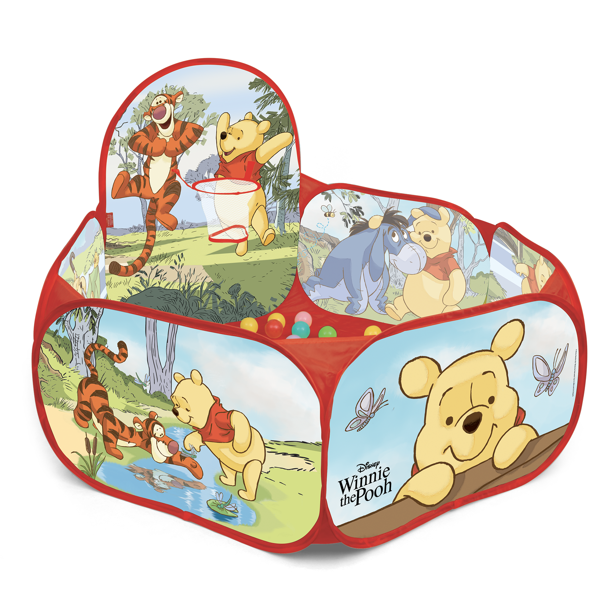 Centro gioco con canestro - winnie the pooh - BABY SMILE