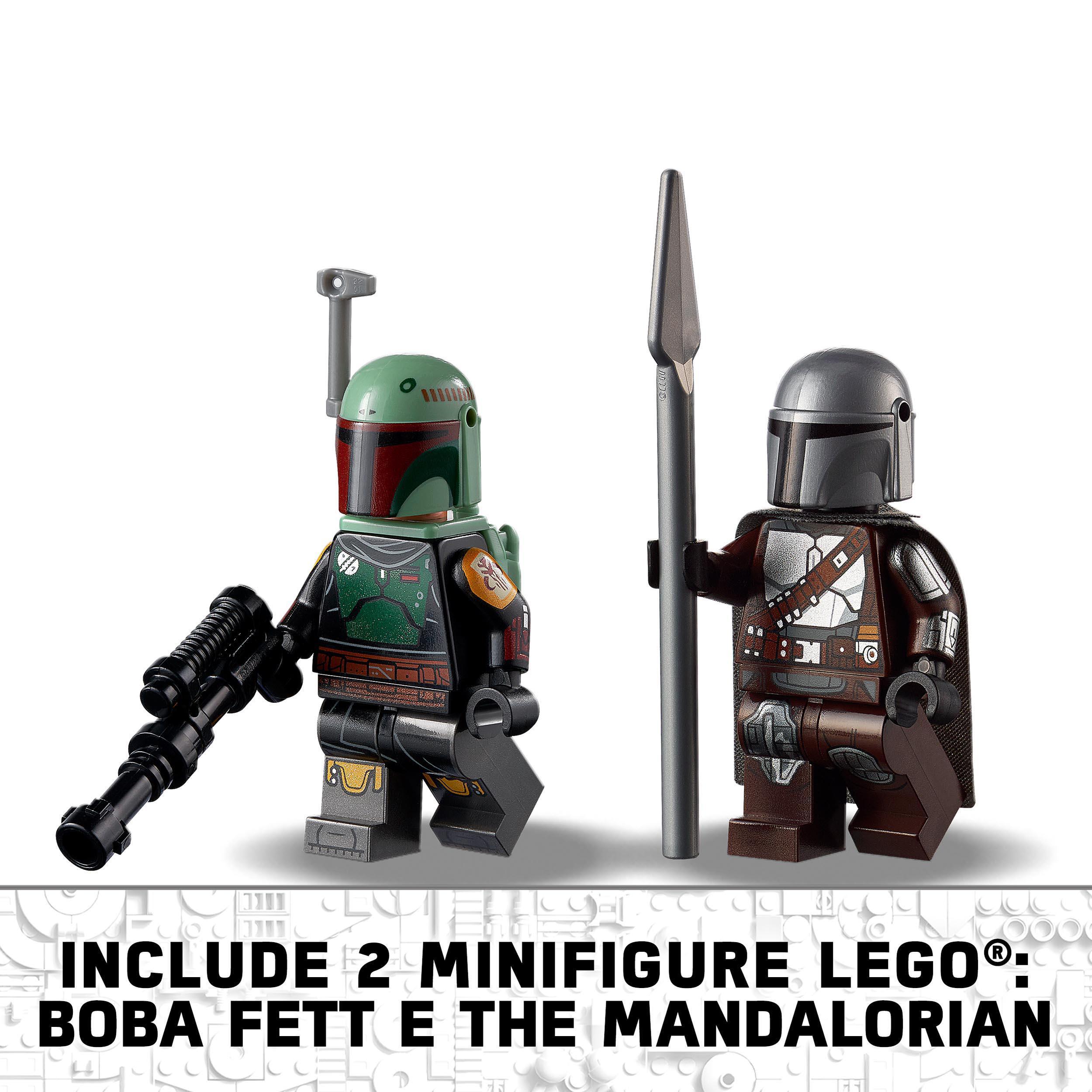 Lego star wars astronave di boba fett™, set da costruzione con 2 personaggi, giocattoli bambino 9 anni, idee regalo, 75312 - Lego