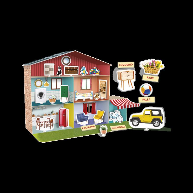 Montessori - la casetta delle parole - SAPIENTINO