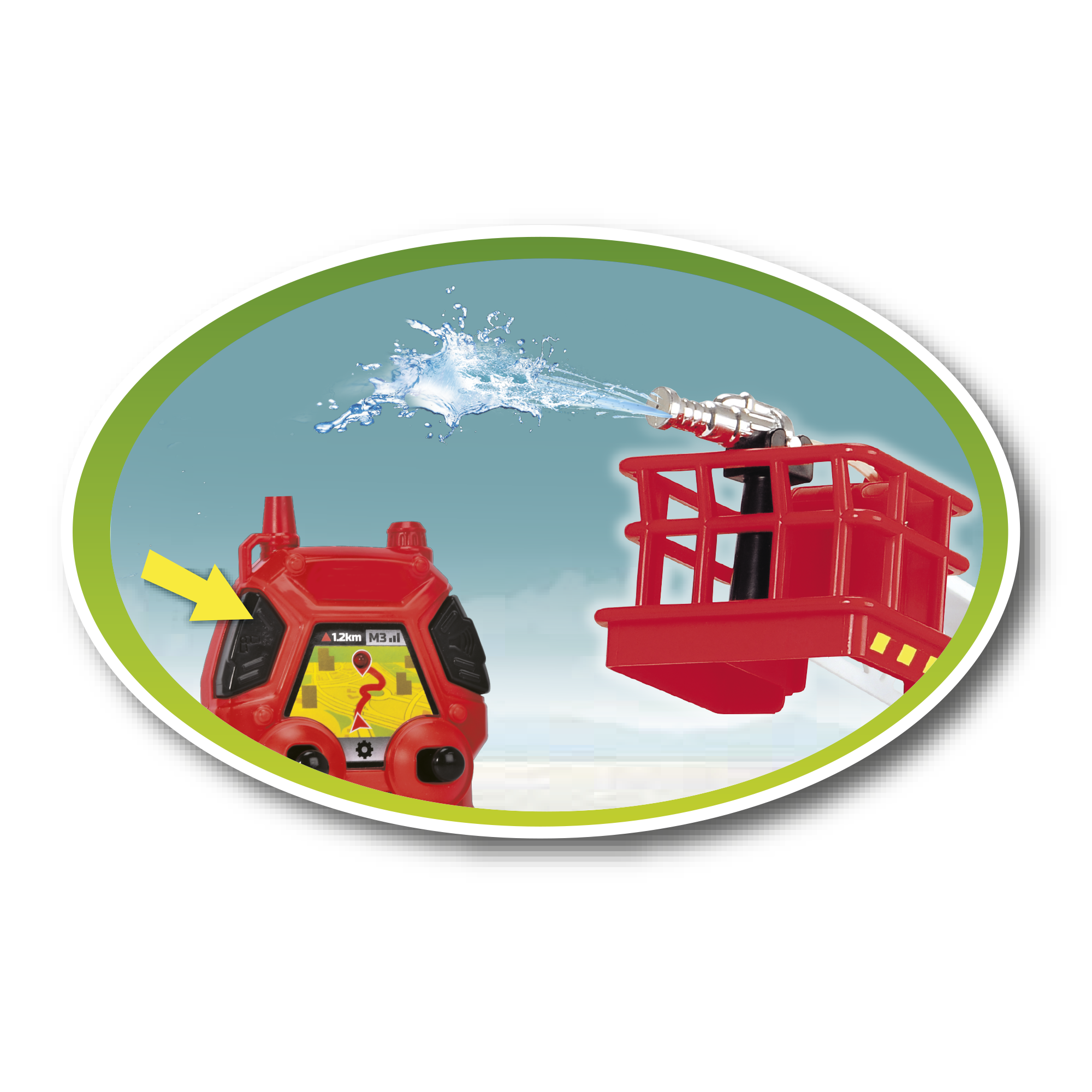 Camion dei pompieri - MOTOR&CO R/C