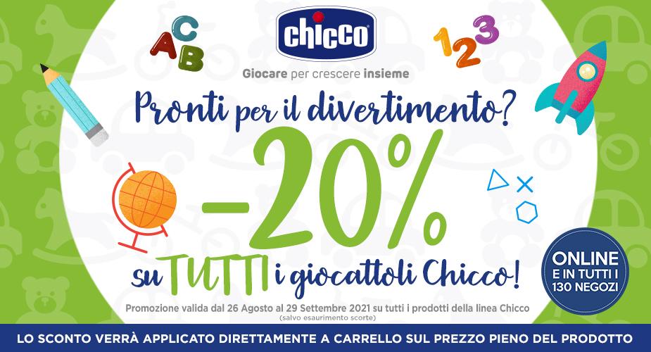 – 20% CHICCO
