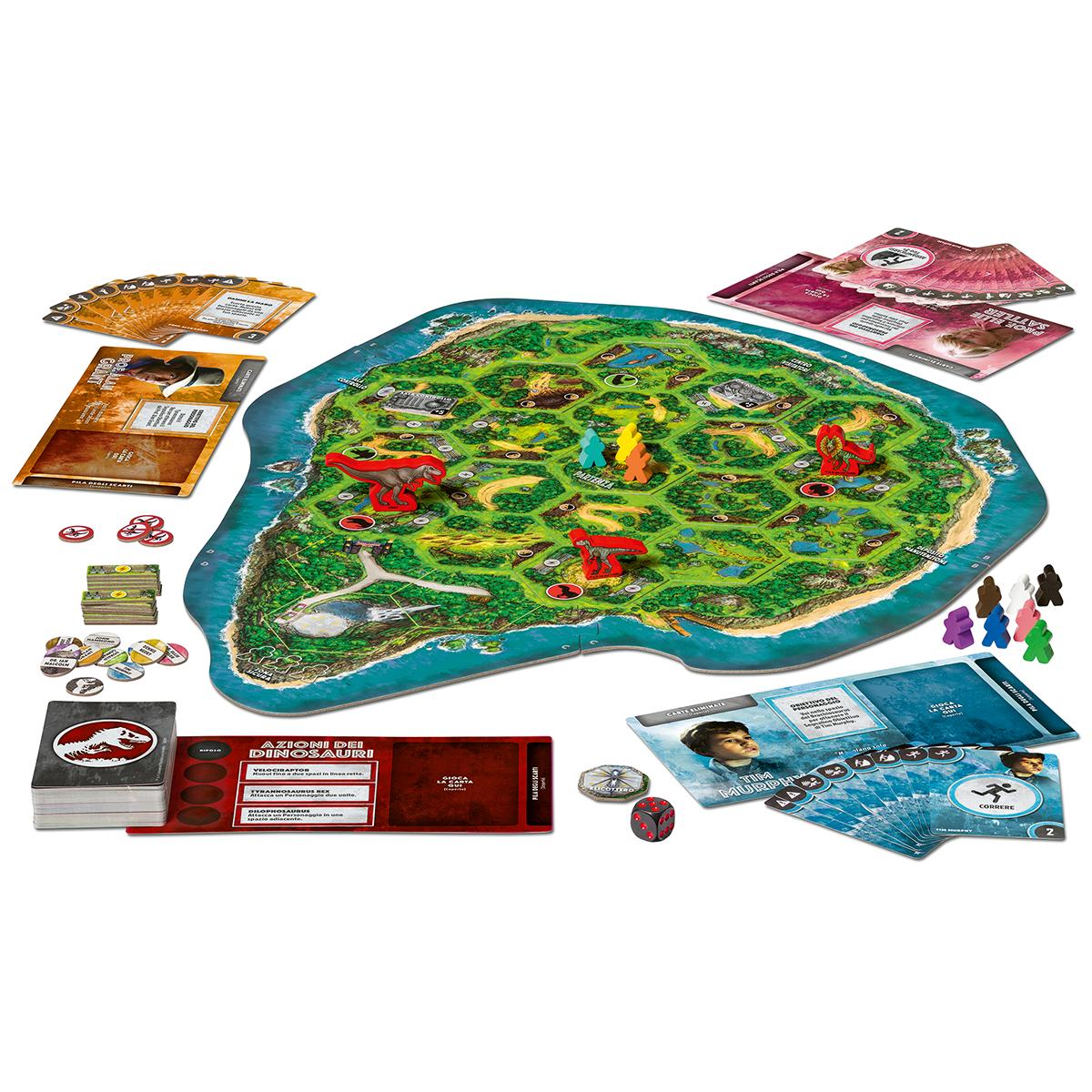 Ravensburger jurassic park danger gioco in scatola - Ravensburger1