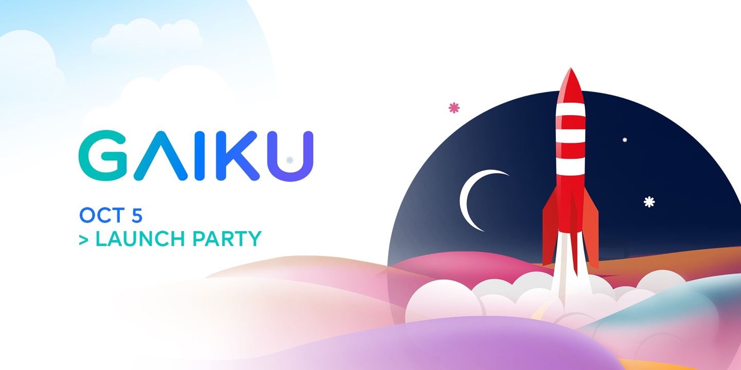 GAIKU Launch party