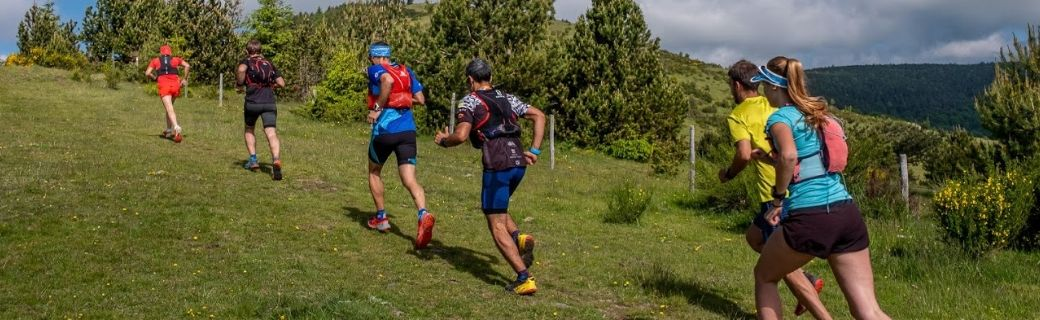 Trail Running por un tubo en el Domini d'Isards